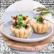 3 Stk. Tarteletter med Høns i Asparges