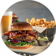 Bacon Cheeseburger Menu