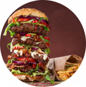 HOLY Burger Deluxe Menu