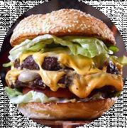 Menu - Mega Burger 400g