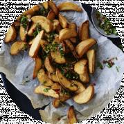 Spicy Kartoffelbåde (Stor)
