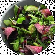 HOLY Salat med grillet oksekød