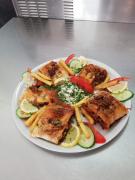 Ristet shawarma menu