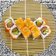 8 stk. Laks Orange Roll
