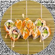 4 stk. California Orange Roll