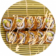 5 stk. Ebi Tempura Crunch Roll