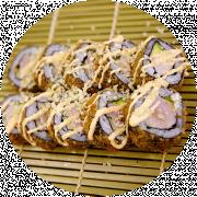 10 stk. Tuna Crunch Roll