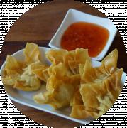 4 stk. dampede dumplings