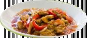 Svinekød i Chop Suey sauce